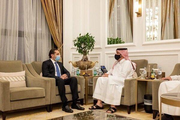رایزنی حریری با وزیر خارجه قطر در دوحه