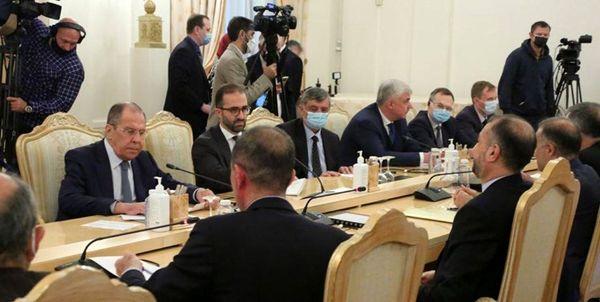 در دیدار وزرای خارجه ایران و روسیه چه گذشت؟