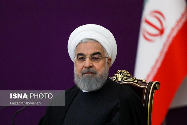 پیام  حسن روحانی به تیم ملی کشتی آزاد ایران