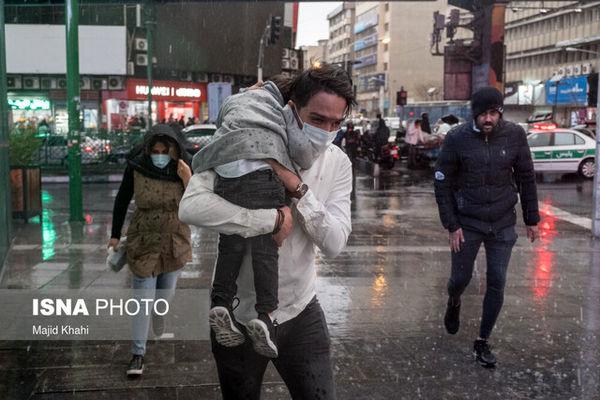 هشدار؛ وقوع رگبار و وزش باد شدید در ۱۳ استان