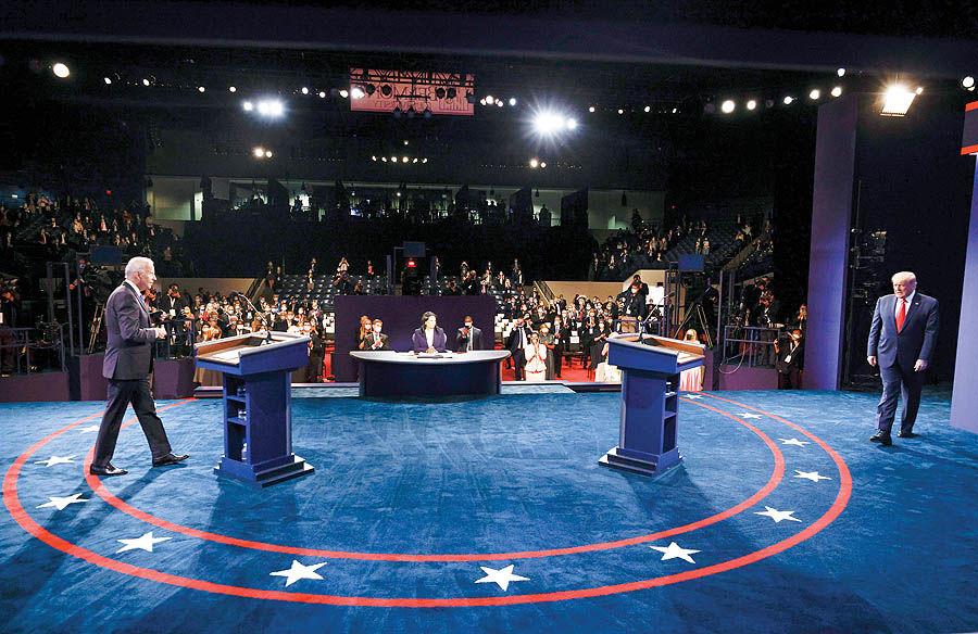 وزنکشی نامزدها پس از آخرین مناظره