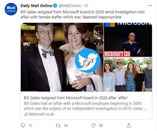 بمب خبری علیه بیل گیتس؛ رابطه نامناسب با کارمندان زن!
