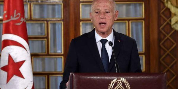توضیح دفتر ریاست جمهوری تونس درباره سوء قصد به جان «قیس سعید»