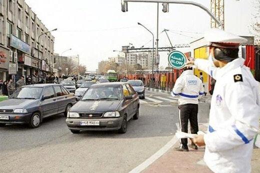ممنوعیت محدودیت تردد پلاکهای غیربومی در تهران