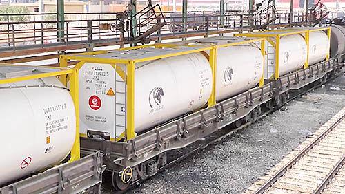 زمانبندی حرکت قطار باری برای اولین بار