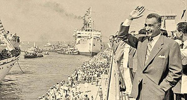 بازگشایی کانال سوئز