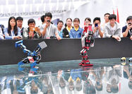 مسابقات ملی روباتیک و هوش مصنوعی در چین