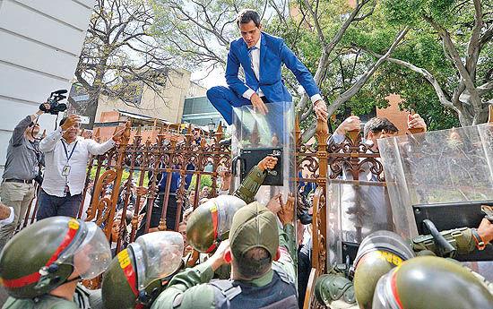 فتح آخرین سنگر در کاراکاس