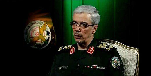 پیام سرلشکر باقری به فرماندهان نظامی کشورهای جهان