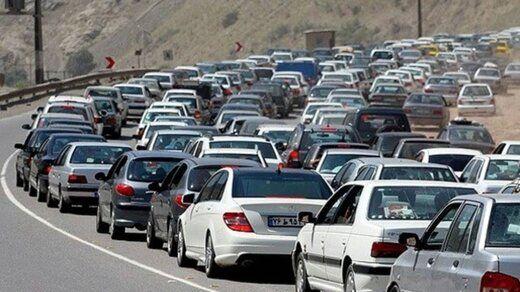 آخرین وضعیت ترافیکی جادهها در طرح ممنوعیت سفر