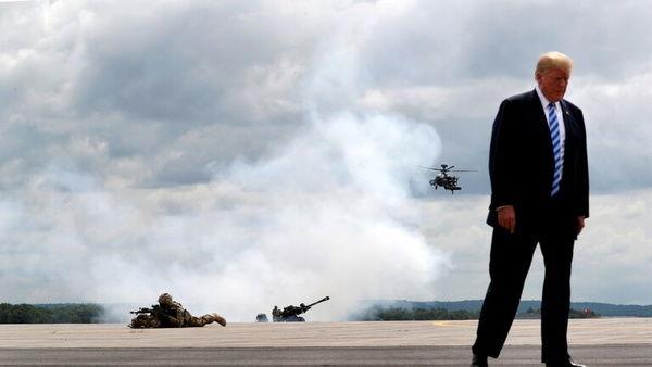 ترامپ سخنرانی خداحافظی خود را ضبط کرده است