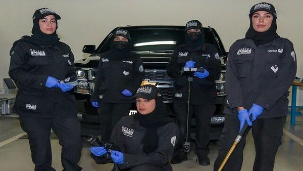 تاسیس اولین تیم زنان خنثی سازی مواد منفجره در پلیس دبی