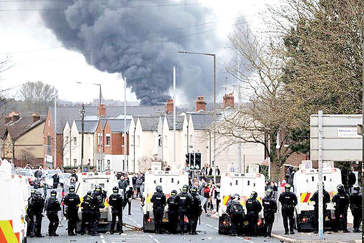 خشونتهای فرقهای در ایرلند شمالی