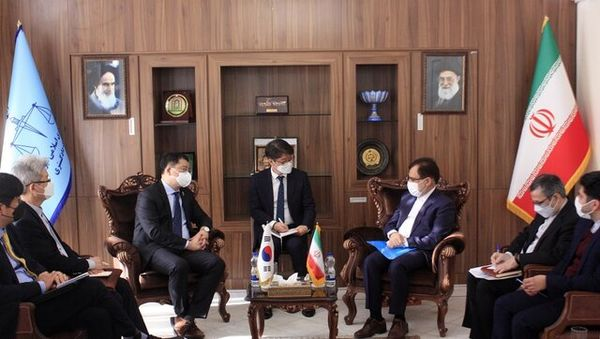 دیدار معاون وزیر دادگستری با هیاتی از کره جنوبی