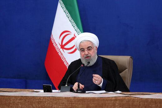 روحانی: آمریکا بداند این خلیج، نامش خلیج فارس است و خلیج نیویورک نیست/ ارزش سهام عدالت هر روز بیشتر می شود/ مردم به بازار پول و سرمایه اعتماد دارند