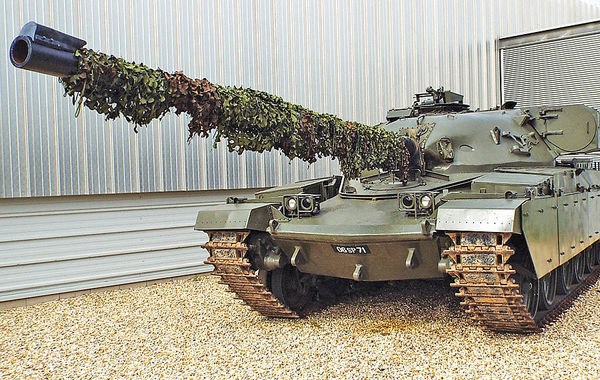 تانکهای چیفتن؛ بازی انگلیسی