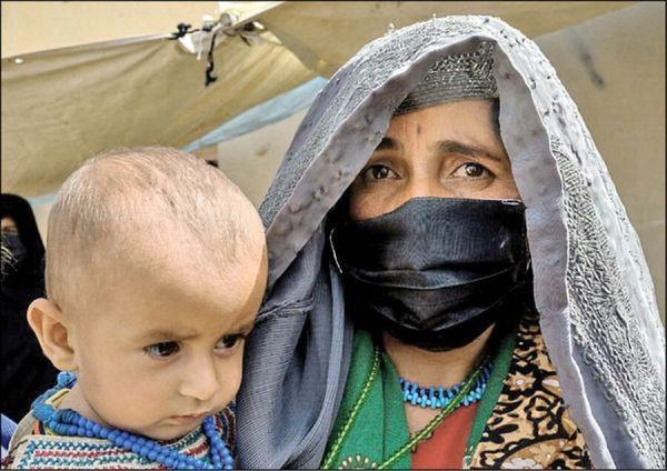 مردم افغانستان به ایران پناه آوردند
