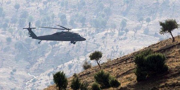 سقوط مرگبار یک بالگرد نظامی در ترکیه