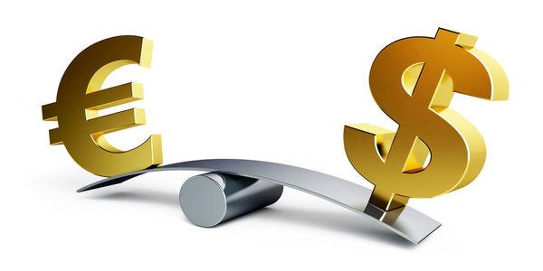 دلار ارزان شد یورو گران