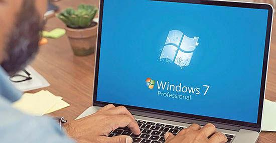 پایان پشتیبانی مایکروسافت از ویندوز7