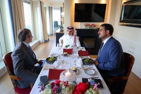 رایزنی وزیر خارجه عربستان و گروسی درباره ایران