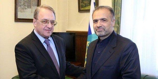 رایزنی ایران و روسیه درباره اوضاع خلیج فارس