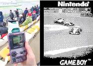 عکسبرداری از مسابقات فرمول 1 با Game Boy