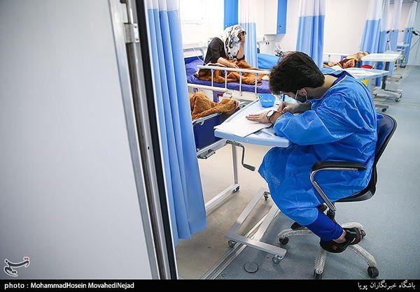 فوت ۱۸۴ بیمار کرونایی در ۲۴ ساعت گذشته در کشور