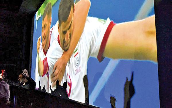 فرش قرمز سینما برای فوتبالیها