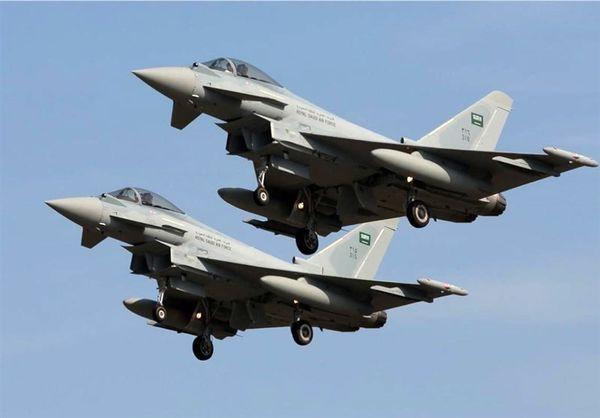 حملات جنگندههای سعودی به صنعاء