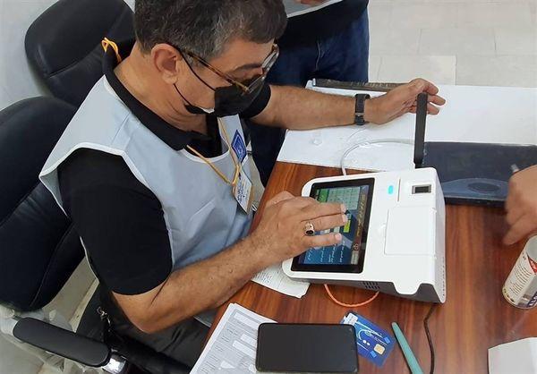 مصطفی الکاظمی رای داد/ عکس