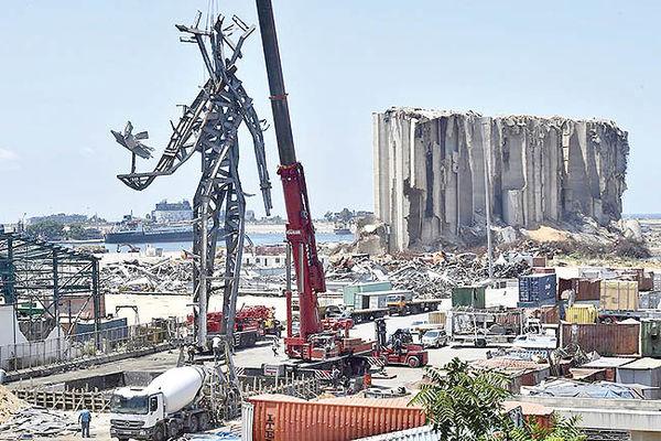 ساخت غول مهربان  در بیروت