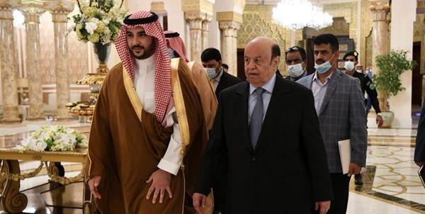 عربستان خواستار تشکیل دولت توسط منصور هادی شد