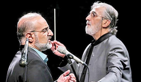 اجرای ارکستر ملی با خوانندگی محمد اصفهانی