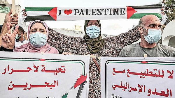 فلسطین علیه خیانت اعراب