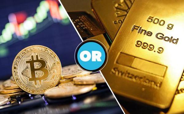 سرمایه گذاری روی طلا بهتر است یا ارز دیجیتال؟