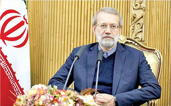 علی لاریجانی: امیر کویت در حل مشکلات منطقهای نقش مثبت داشت