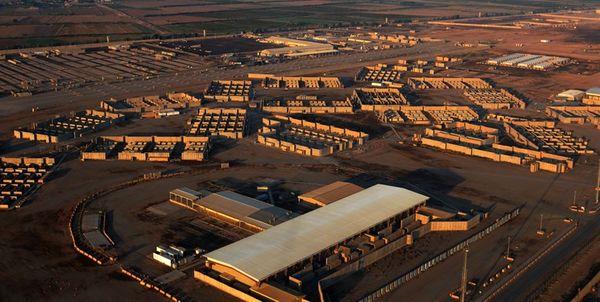 حمله راکتی به پایگاه هوایی آمریکا در شمال عراق