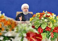 روحانی:  سیاست آمریکا «زانو بر گلو» است