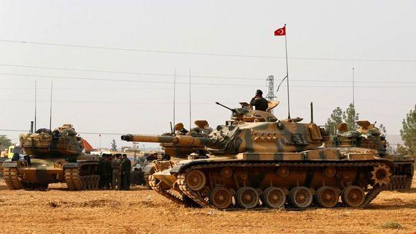 درگیری نیروهای وابسته به ترکیه و آمریکا در سوریه