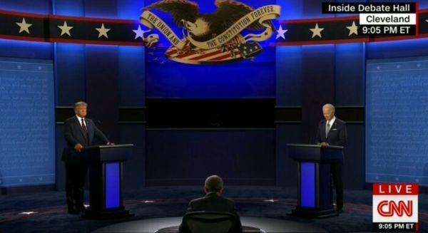آمارهای جالب از مناظره انتخاباتی ترامپ و بایدن