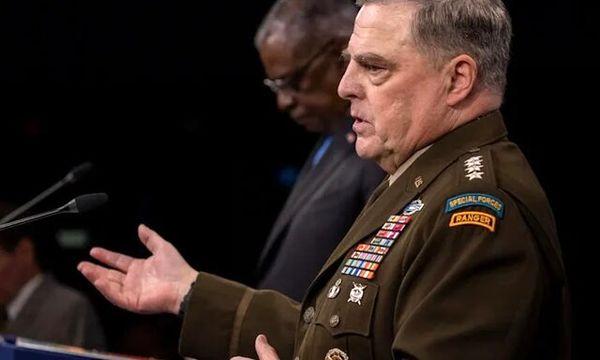 دیدار و گفتوگوی رئیس ستاد مشترک ارتش آمریکا با همتای روسیهایاش