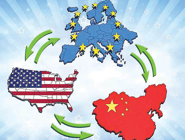 یارکشی سهجانبه در جنگ تجاری