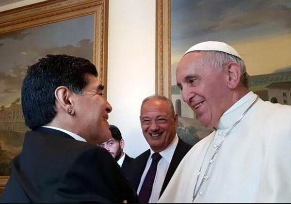 واکنش پاپ فرانسیس به درگذشت مارادونا