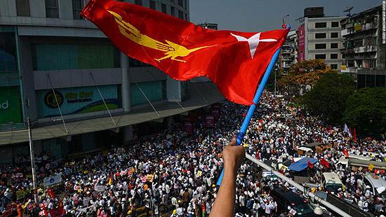 اعتصاب سراسری در میانمار