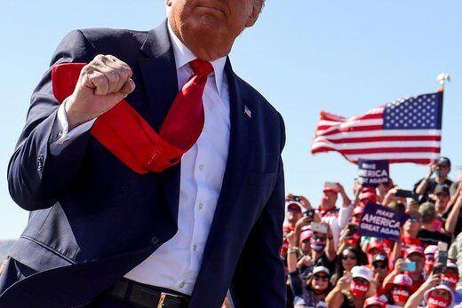 دست به دعا شدن صهیونیستها برای پیروزی ترامپ