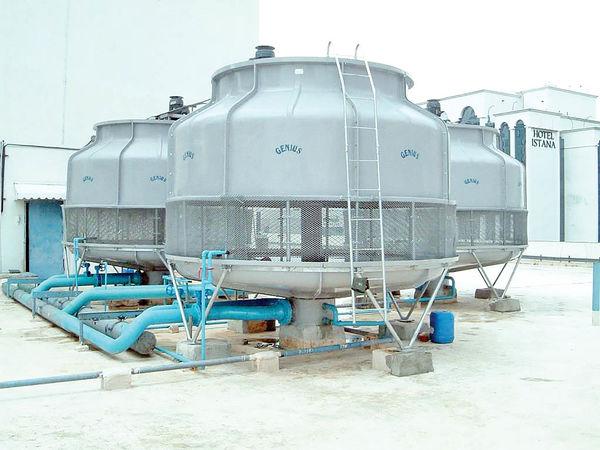تولید  پکینگهای برجهای خنککننده در داخل