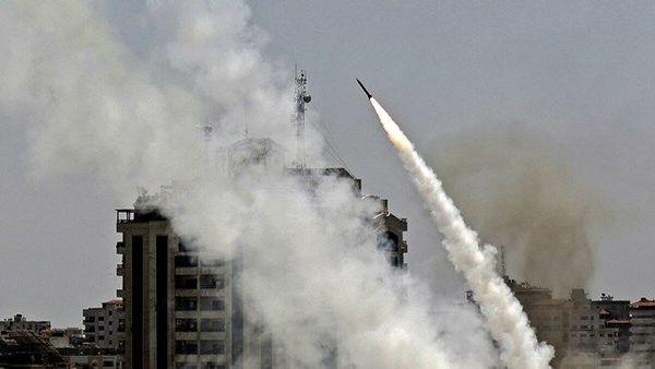 پایگاه هوایی رژیم صهیونیستی هدف موشکهای مقاومت فلسطین قرار گرفت