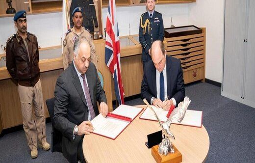 انگلیس و قطر توافقنامه نظامی امضا کردند