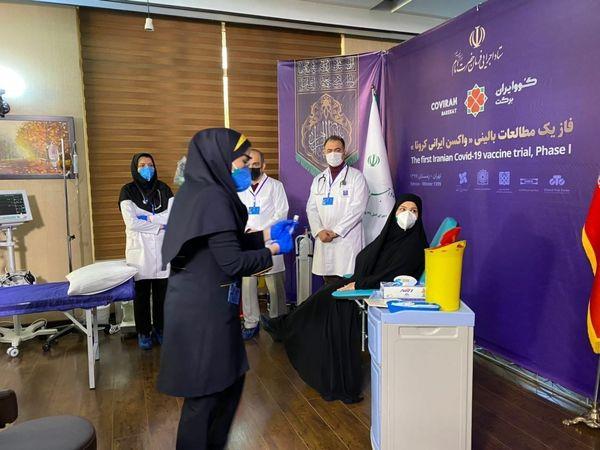 حال عمومی ۳ داوطلب تزریق واکسن ایرانی کرونا خوب است